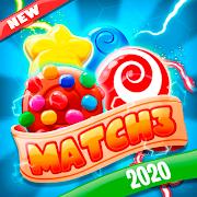 Sweet Sugar Match 3 - Free Candy Smash Game