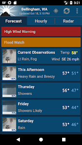 NOAA Weather Unofficial (Pro) 2.11.2 b190435 (Paid)