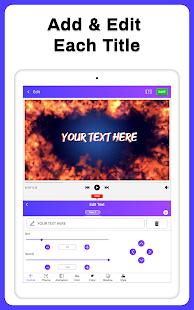 Intro Maker, Outro Maker, Intro Templates 32.0 Screenshots 15