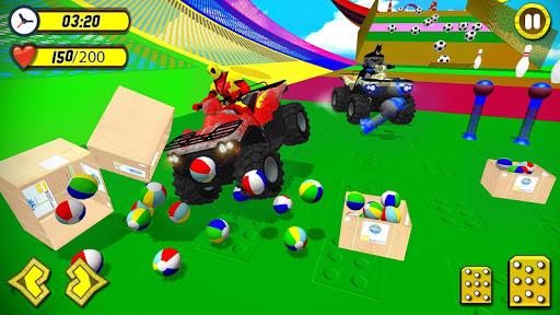 ATV Quads Superheroes Stunts Racing screenshots 2