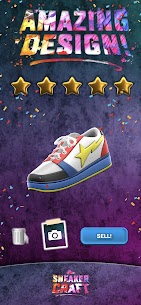 Sneaker Craft MOD APK (UNLOCKED STAGE/SHOES) 4