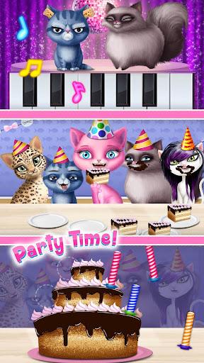 Cat Hair Salon Birthday Party - Virtual Kitty Care 8.0.80007 screenshots 7