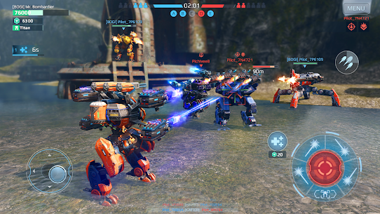 War Robots Mod Apk Unlimited Gold and Silver 7.2.1 Download 3
