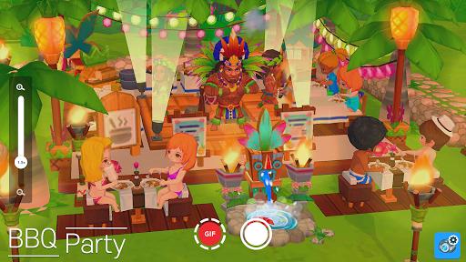 My Little Paradise : Resort Management Game Apkfinish screenshots 13