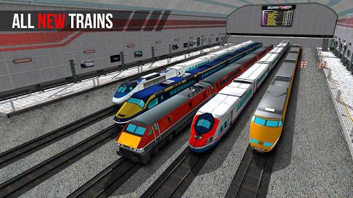 City Train Driver Simulator 2021:Free Train Games  screenshots 1