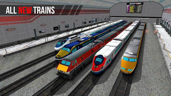 City Train Driver Simulator 2021:Free Train Games 10.8 Screenshots 1