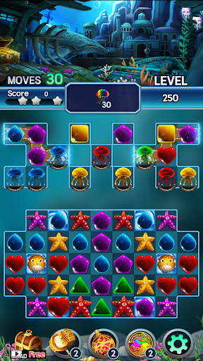Jewel ocean world: Match-3 puzzle 1.0.5 screenshots 4