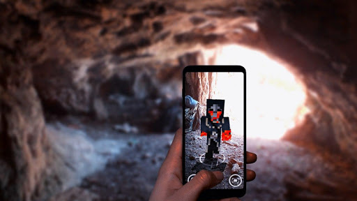 AR Minecraft skins Visualiser in Augmented Reality 11 screenshots 8