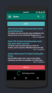 Basketball News Screenshot