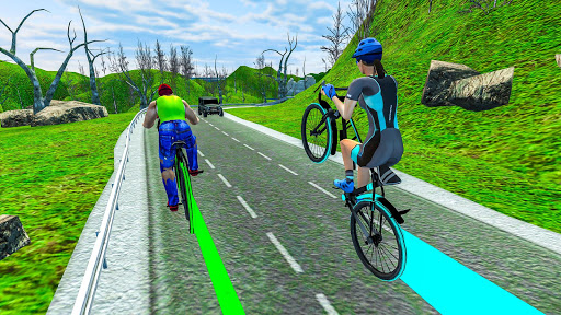 Light Bike Fearless BMX Racing Rider 2.1 screenshots 9