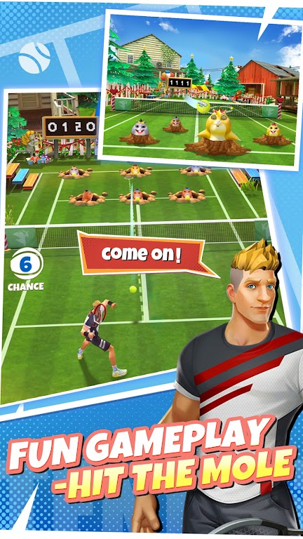 Tennis Go: World Tour 3D  poster 2