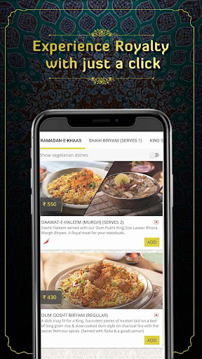 Behrouz Biryani - Order Biryani Online 2.23 Screenshots 5