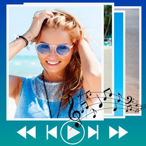Make slideshow with music APK
