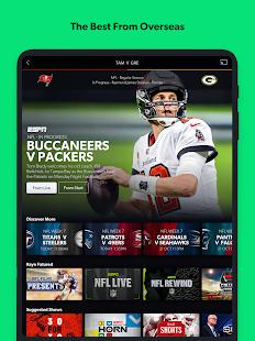 Kayo Sports - for Android TV screenshots 10