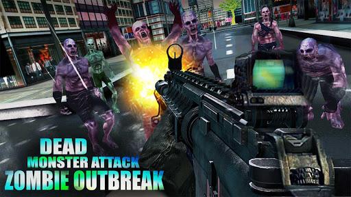 Dead Monster Attack - Zombie Outbreak  screenshots 6