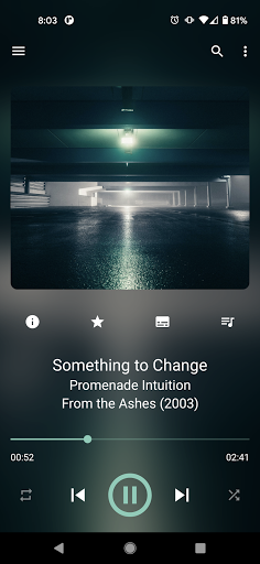 GoneMAD Music Player (Trial) 3.0.8 screenshots 1