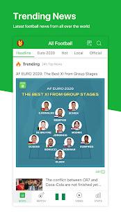 All Football - Live Scores & News for Euro 2020 3.4.0 Screenshots 3