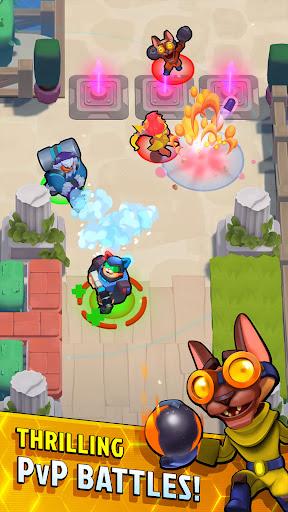 Caterra: Battle Royale apktreat screenshots 2