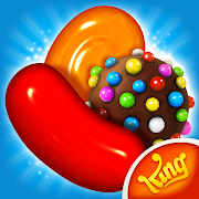 App Icon for Candy Crush Saga App in United States Play Store