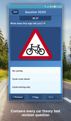 Official DVSA Theory Test Kit screen 2