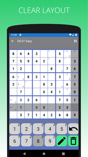 SUDOKU - Offline Free Classic Sudoku 2021 Games  screenshots 6