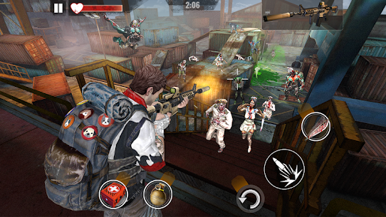 ZOMBIE HUNTER Mod Apk (Free Shopping) 1