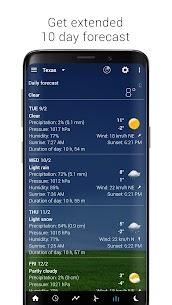 Sense V2 Flip Clock & Weather MOD APK (PREMIUM) Download 6
