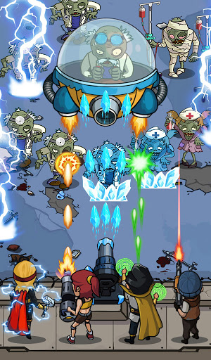 Zombie War: Idle Defense Game 61 screenshots 3
