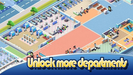 Idle Hospital Tycoon Mod Apk 2.1.8 (Unlimited Money) 2