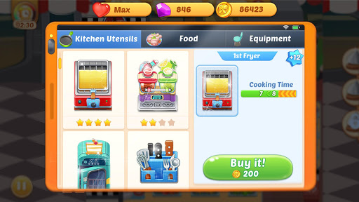 Cooking Life: Crazy Chef's Kitchen Diary 1.0.6 screenshots 5