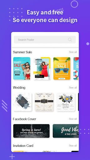 Poster Maker, Flyers, Banner, Logo Ads Page Design  Screenshots 5