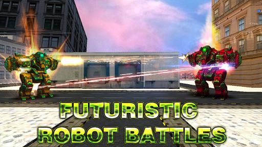 Robot World At War - Robo Battle Ground APK MOD – Monnaie Illimitées (Astuce) screenshots hack proof 1