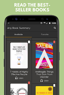 Any Book Summary Mod Apk (Subscription Feature Unlock) 1