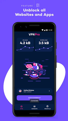 Download APK: VPN Pro – Pay once for life v2.0.7 [Paid]