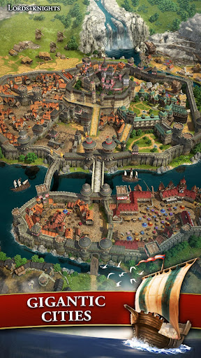 Lords & Knights - Medieval Building Strategy MMO 8.12.0 screenshots 5
