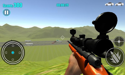 Sniper Traffic Hunter Game 1.5 screenshots 5
