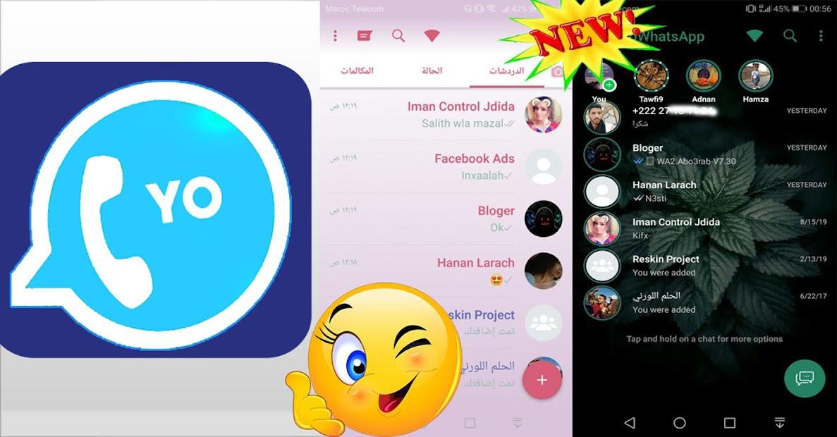 Captura 3 de Yo Whats plus Latest Version FmWhatts  2021 para android