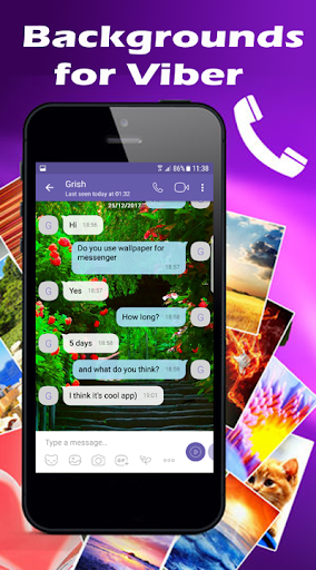 Wallpapers for Viber Messenger and Chat 1.03 Screenshots 1
