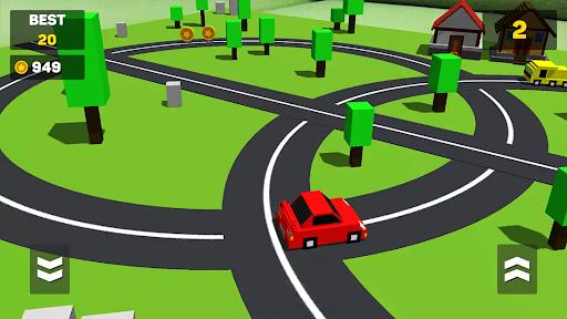 Circle Crash - Blocky Highway 1.0 screenshots 1