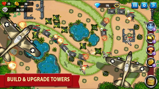 Tower Defense - War Strategy Game screenshots 1