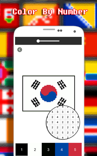 Flags Coloring By Number - Pixel  screenshots 2
