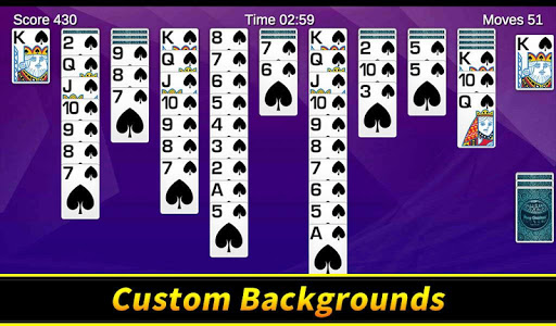 Spider Solitaire apkpoly screenshots 12