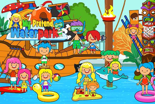 My Pretend Waterpark - Kids Summer Splash Pad apkpoly screenshots 6