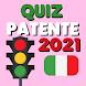 Quiz Patente di Guida 2021 Ufficiale  domande b c - Androidアプリ
