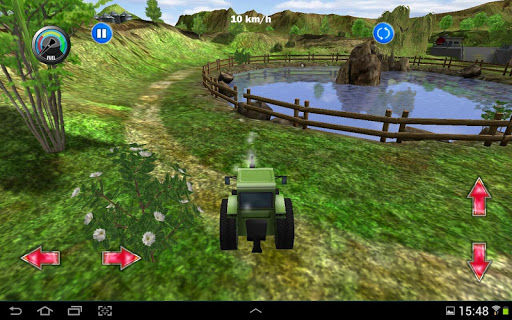 Tractor Farm Driving Simulator apkslow screenshots 8