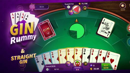 Gin Rummy - Online Card Game 1.7.0 screenshots 1