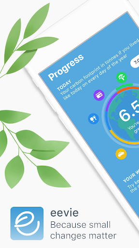 eevie: Your Climate Guide To A Sustainable Life 🌱 12.1.1 screenshots 1