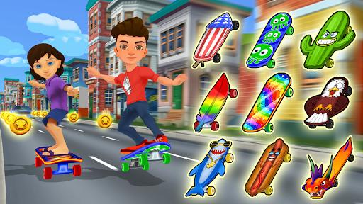 Skater Rush - Endless Skateboard Game 1.4.0 screenshots 1