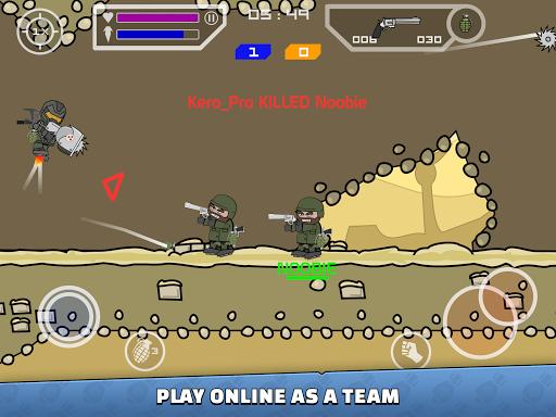 Mini Militia - Doodle Army 2 screenshots 9