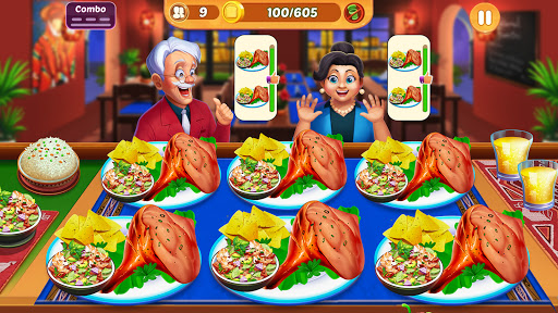 Cooking Crush: New Free Cooking Games Madness Apkfinish screenshots 4
